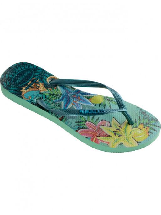 HAVAIANAS SLIM TROPICAL FLIP-FLOPS 580026518