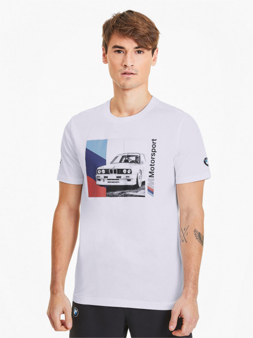 PUMA Mens BMW Motorsport MMS Graphic Tee