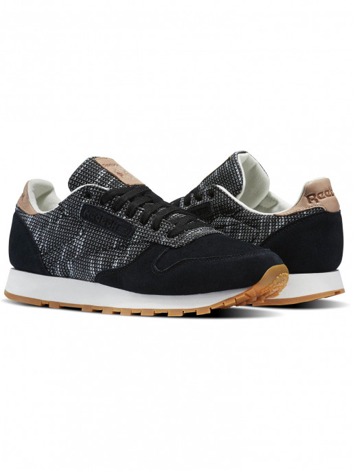 746b7e944b7cd REEBOK CLASSICS Shoes CL LEATHER EBK Reebok Classic Leather