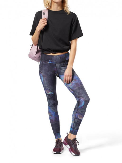 REEBOK Клин LUX BOLD TIGHT- OIL SLICK