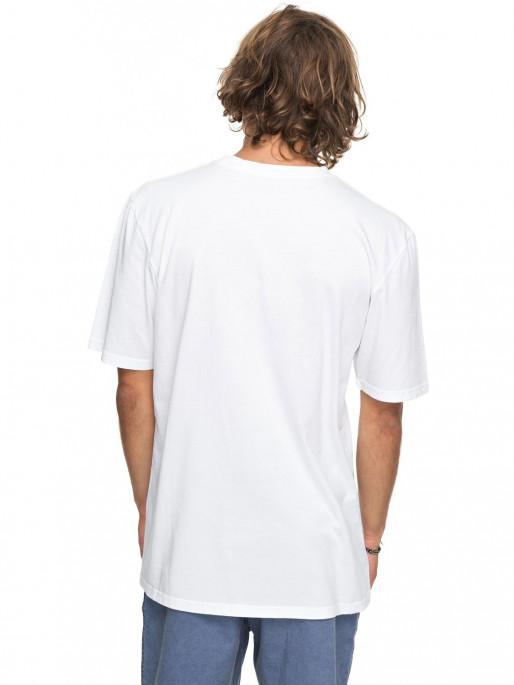 QUIKSILVER Тениска GMT DYE PEACH BUZZ