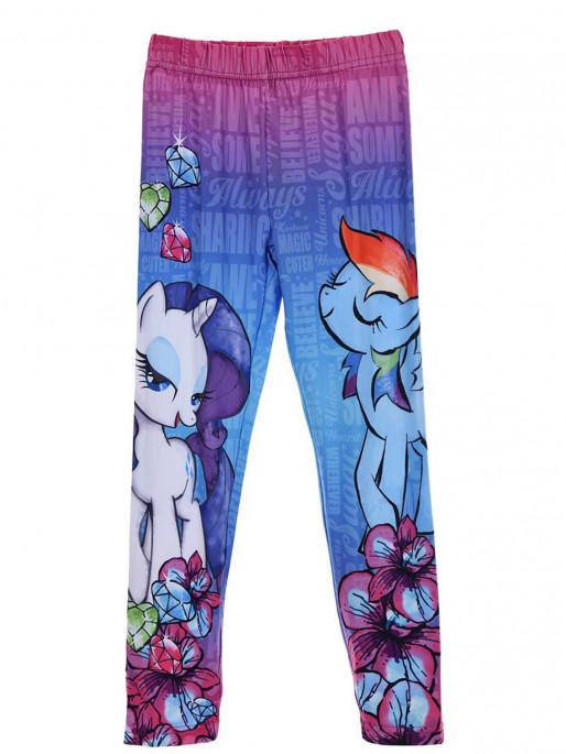 Colanti lungi My Little Pony, roz/albastru, 7/8 ani [0]