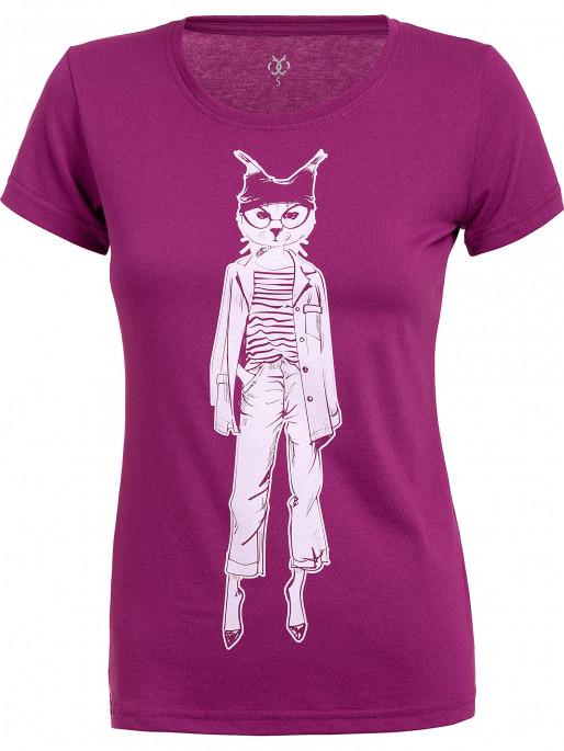 BRILLE Дамска тениска Fashion Animals