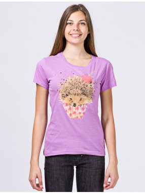 a90943b3ced BRILLE Дамска тениска Hedgehog