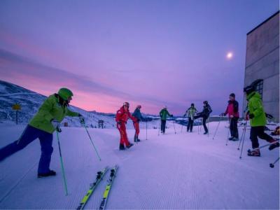 Skijanje u zoru s Franzom Klammerom