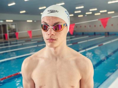 Младият плувец рекордьор Алекс Стойнов: Усилия и постоянство стоят зад успеха