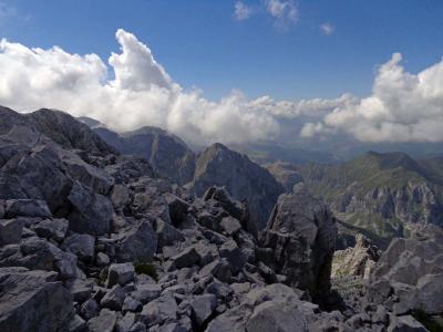 Prokletije - uspon na Severni vrh Karanfila