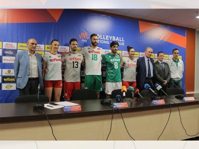 Националните ни отбори по волейбол с нови екипи Errea от SPORT DEPOT
